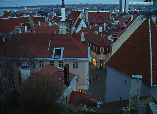 A photo of Tallinn, Estonia
