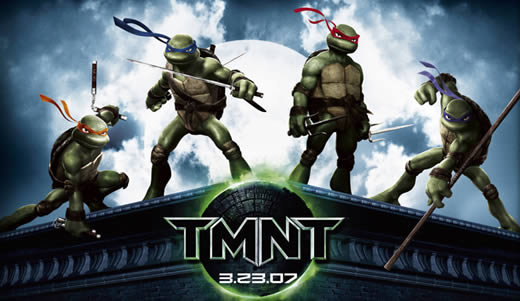TMNT poster (Teenage Mutant Ninja Turtles)