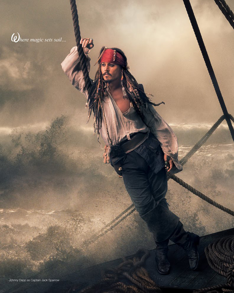 Pirates of the Caribbean - Johnny Depp