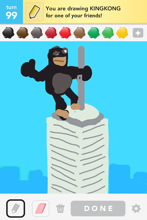 Easy King Kong Drawing How to Draw King Kong