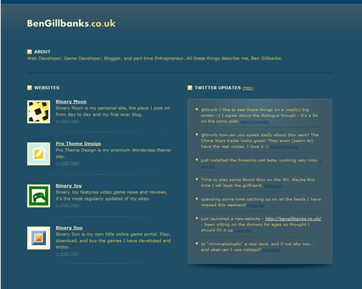bengillbanks.co.uk screenshot