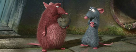 Ratatouille - Emile and Rémy